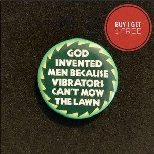 NWT Ephemera Backpack Pin Feminist Pin Metal Pin